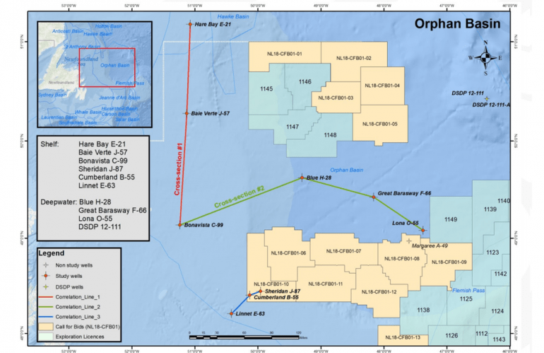 Orphan Basin Non-exclusive Study Complete